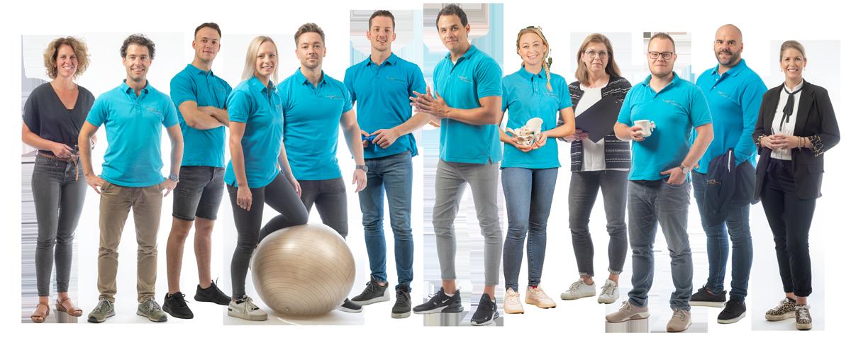 Het team van Rugcentrum Parkstad